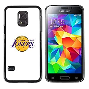Exotic-Star ( Angeles Losers Basketball Team Funny ) Fundas Cover Cubre Hard Case Cover para Samsung Galaxy S5 Mini / Samsung Galaxy S5 Mini Duos / SM-G800 !!!NOT S5 REGULAR!