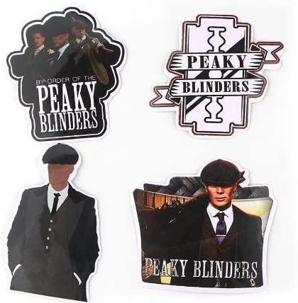 SUNYU Pegatina de película Peaky Blinders para el Equipaje del teléfono DIY Laptop Moto Teléfono Etiqueta Impermeable 18Pcs: Amazon.es: Coche y moto