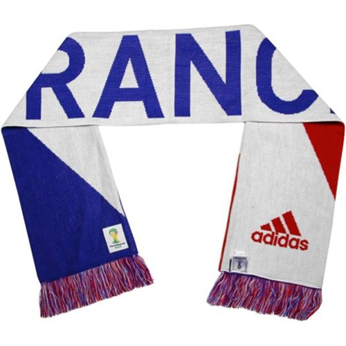 Adidas France Scarf White/Blue