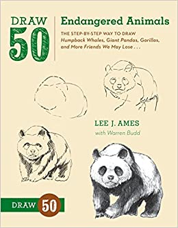 Buy Draw 50 Endangered Animals: The Step-by-Step Way to Draw