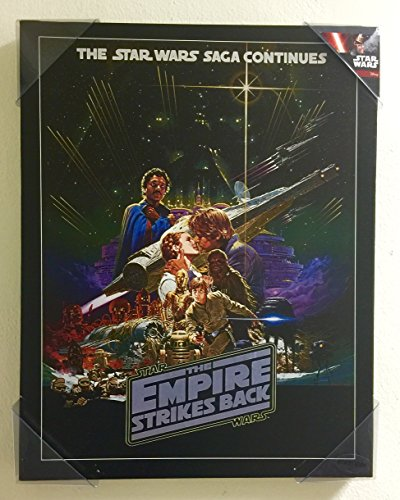 Star Wars The Empire Strikes Back Poster on Canvas 18 (Empire Poster Strikes Back The)