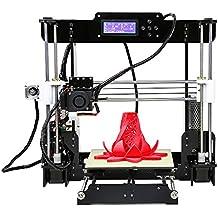 EARME Anet A8 3D Desktop Acrylic LCD Screen Printer DIY High Accuracy Self Assembly
