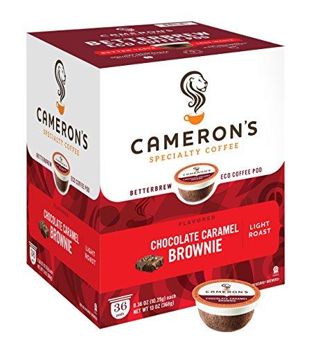 Camerons Coffee Chocolate Caramel packaging