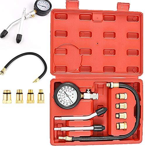 Auto Motorrad Kompressionstester Kompressionsprüfer Messgerät Test kit 0-20 bar oder 0-300 psi Verdichtungsmesser 4…