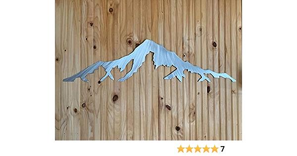 Details about  /Home Decor Wall Sign Mt Hood Oregon Bierstadt Mountain Art Picture Frame