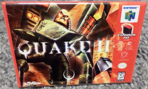 Price comparison product image Quake 2 N64 Vintage Game Box 2x3 Fridge Locker MAGNET Nintendo