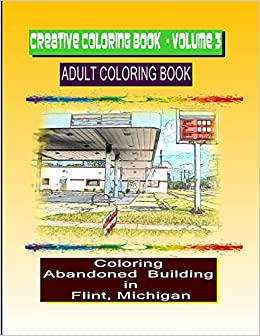 Amazon.com: Creative Coloring Book-Volume 3: Abandoned buildings in ...