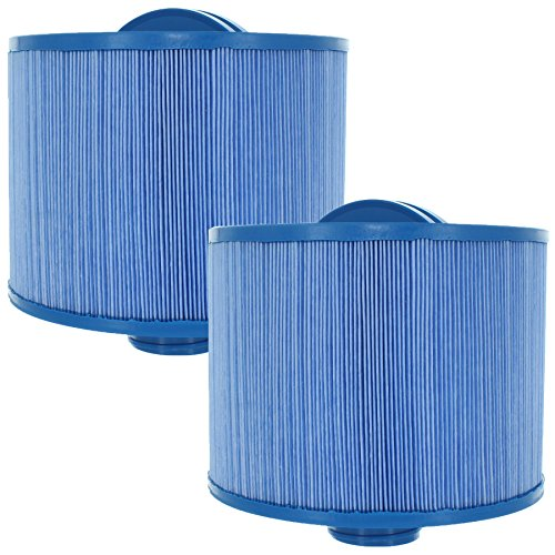 2-Pack Guardian Filters Replaces Unicel 8CH-950 8H5-200MB Pleatco PBF50-F2S PBF35-M Filbur FC-0536 Bull Frog - Antimicrobial ()