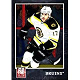Milan Lucic Hockey Card 2011-12 Elite #96 Milan Lucic