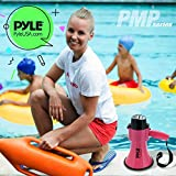 Portable Megaphone Speaker Siren Bullhorn - Compact and Battery Operated with 30 Watt Power, Microphone, 2 Modes, PA Sound and Foldable Handle for Cheerleading and Police Use - Pyle PMP34PK