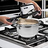 SAKI Automatic Pot Stirrer for Cooking, with 2