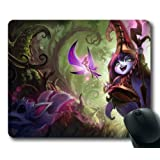Game LOL League of Legends Lulu Mouse Pad/Mouse Mat Rectangle by ieasycenter