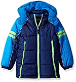 Best iXtreme Snow Jackets - iXTREME Toddler Boys' Colorblock Active Puffer, Navy, 4T Review