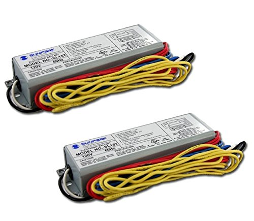 Sunpark SL15T electronic ballast for multiple CFL and linear fluorescent lamps (2 Pack)