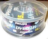 Philips DVD+RW 15 Disc Rewritable DVD + RW