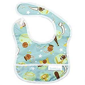 Bumkins Waterproof Starter Bib, All Star (4-9 Months)