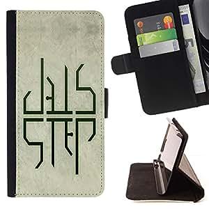 For LG G4 Case , Dub DUBSTEP Paso- la tarjeta de Crédito Slots PU Funda de cuero Monedero caso cubierta de piel