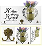 Best Key Holder With Decorations - Home Decor Key Holder and Coat Hook Wall Review