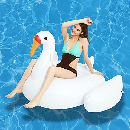 KURALA 팽창식 수영장 부유물 여름 물감 아이들은 성인에서 선택(아이스 백조 수영장은 라운지 물 휠 아보카도)