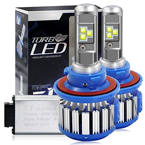 Win Power H13(9008) LED Hi-lo Beam Headlight CREE Bulbs Conversion Kits + Canbus (1 Pair)-2 Year Warranty