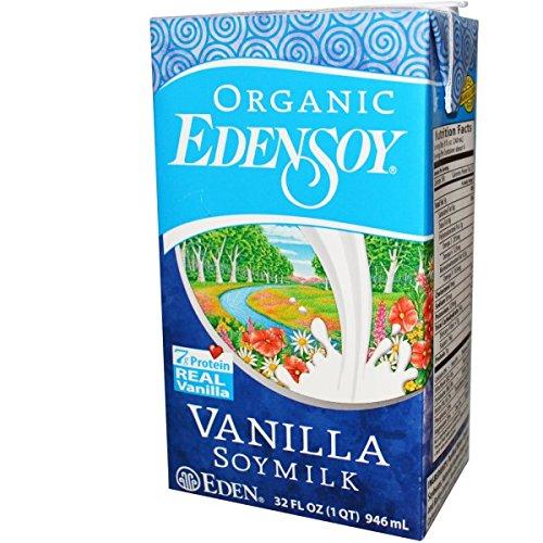 EdenSoy Organic Vanilla Soymilk 32 oz (Pack of 12) by Edensoy (Image #2)