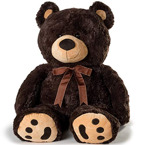 JOON Huge Teddy Bear - Dark Brown from JOON