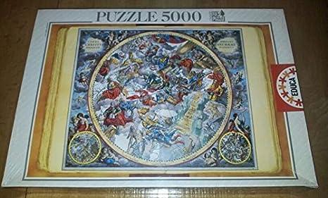 Educa Puzzle 5000 Piezas Planisferio Celeste: Amazon.es: Juguetes y juegos