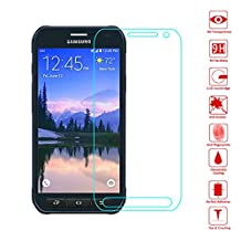 Wunderglass - Samsung Galaxy S6 Active Screen Protector 9H Tempered Glass Protector Screen Protector from toughened glass foil film - by OKCS®