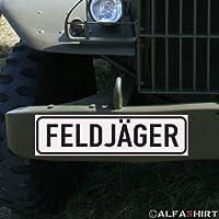 * Magnetschild - Feldjäger Bundeswehr Military Police Militär Polizei MP BW für Fahrzeuge Kübel Iltis Wolf Unimog etc #A152