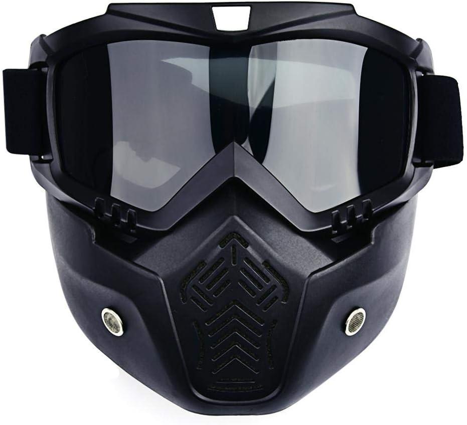 iBellete Nueva máscara de Gafas Vintage para Harley-Davidson Motocicleta Accesorios de Motocicleta Gafas Conjunto de Equipo de protección