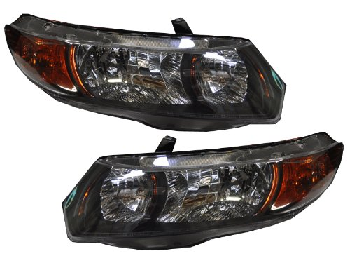 07 honda civic si headlight - 8