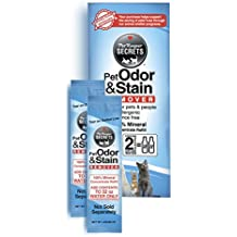 PetKeeper Secrets Odor Stain Remover 2Pack Refill, 64oz