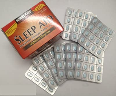Sleep Aid Doxylamine Succinate 25 mg 96 Tablets (Pack of 2)