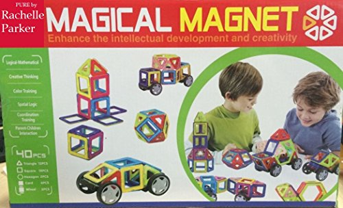 Magical Magnet Wheels Building Blocks