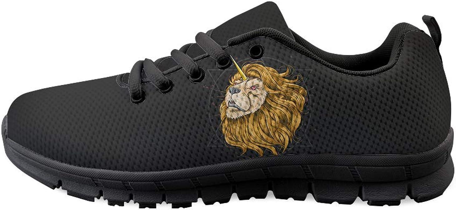 Lace-up Sneaker Training Shoe Mens Womens Magic Hexagon Lion Unicorn