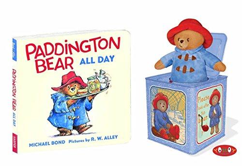 (YOTTOY Paddington Bear Baby Paddington Jack in A Box for Kids or Baby Gift With Paddington Board Book)