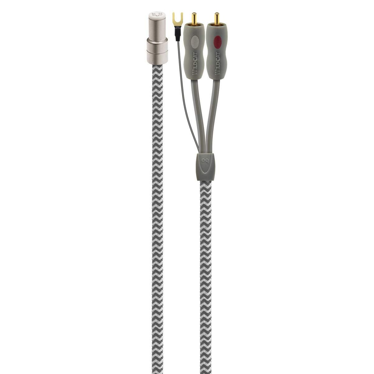 AudioQuest Wildcat Tonearm Cable - 4.92 ft. (1.5m)