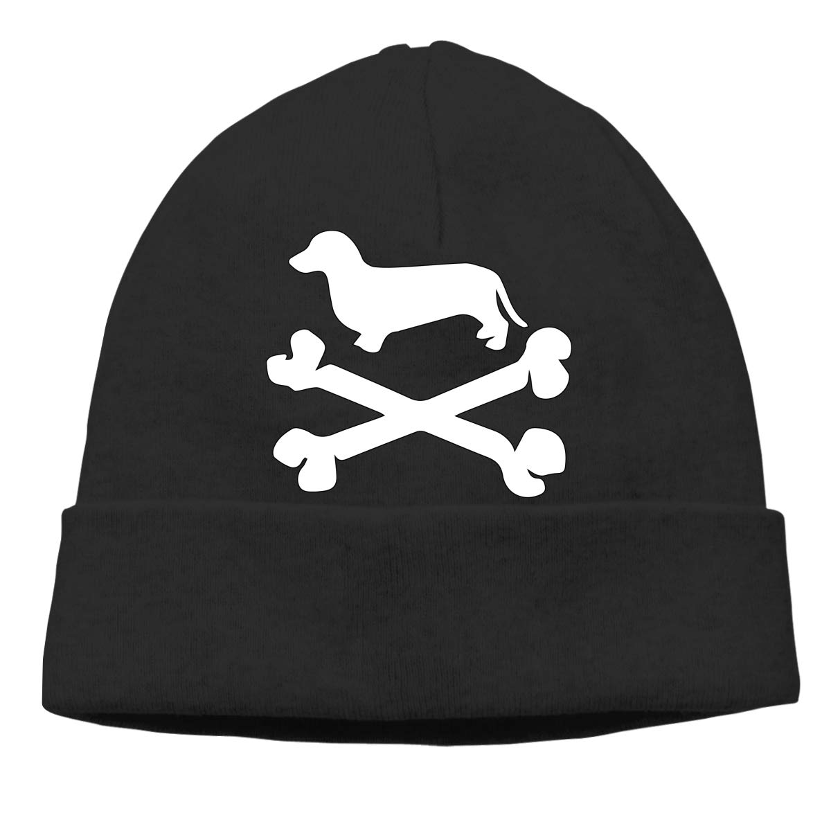 GDSG5/&4 Daschund Puppy Unisex Baggy Surf Beanie Hats
