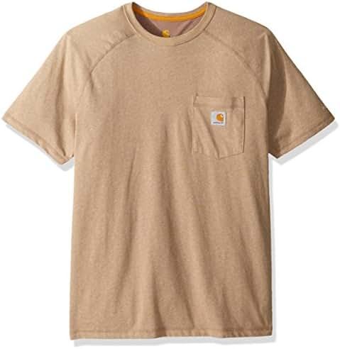 Carhartt Men's Force Cotton Delmont Short Sleeve T-shirt (Regular and Big & Tall Sizes)