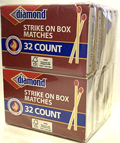 GreenLight Diamond Strike On Box Matches, 32 Count (Pack