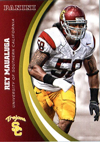 2015 Panini Collegiate Team Set Card #56 Rey Maualuga USC