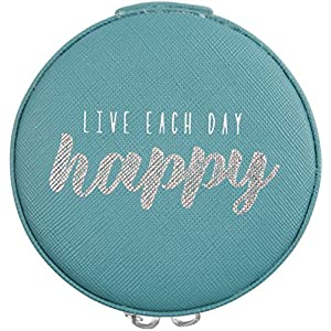 Pavilion Gift Company Live Each Day Happy Jewelry Case