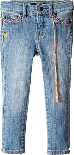 Zoe Jeans (Lucky Brand Kids Baby Girl's Zoe Jeans w/ Embroidery (Toddler) Monterey Wash Jeans)