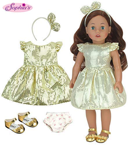 Sophia's 18 Inch Doll Carly, Made 18 Inch Auburn Doll, Jointed Arms/Legs & Soft Body, Brand Doll (Doll Arms)
