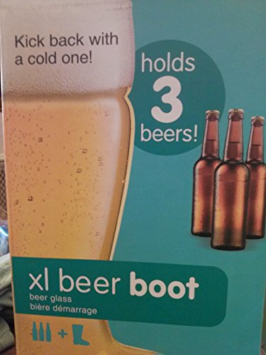 Beer Boot Game Glass (Xl Beer Glass compare prices)