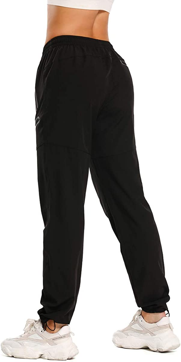 LEAO Womens Hiking Pants Quick Dry Lightweight Outdoor Cargo Pants Water Resistant UPF 50 Seamless Zipper Pockets
