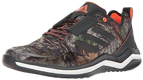 (adidas Men's Freak X Carbon Mid Cross Trainer Dark Grey/White, ((8.5 M US))
