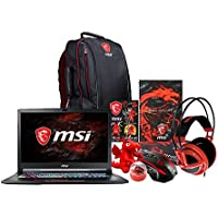 MSI GE73VR Raider-066 17.3 Gaming Laptop - Intel Core i7-7700HQ, NVIDIA GTX 1070, 16GB DDR4 RAM, 1TB SSD +1TB HDD, Win10 Home, VR Ready + Gaming Bundle
