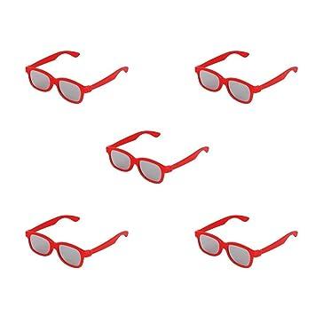 ivebetter rojo lente polarizada circular pasivo 3d gafas para ...
