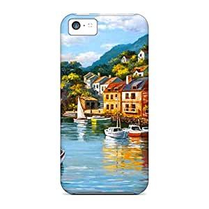 Iphone 5c Cases Covers Coastal Village Cases - Eco-friendly Packaging